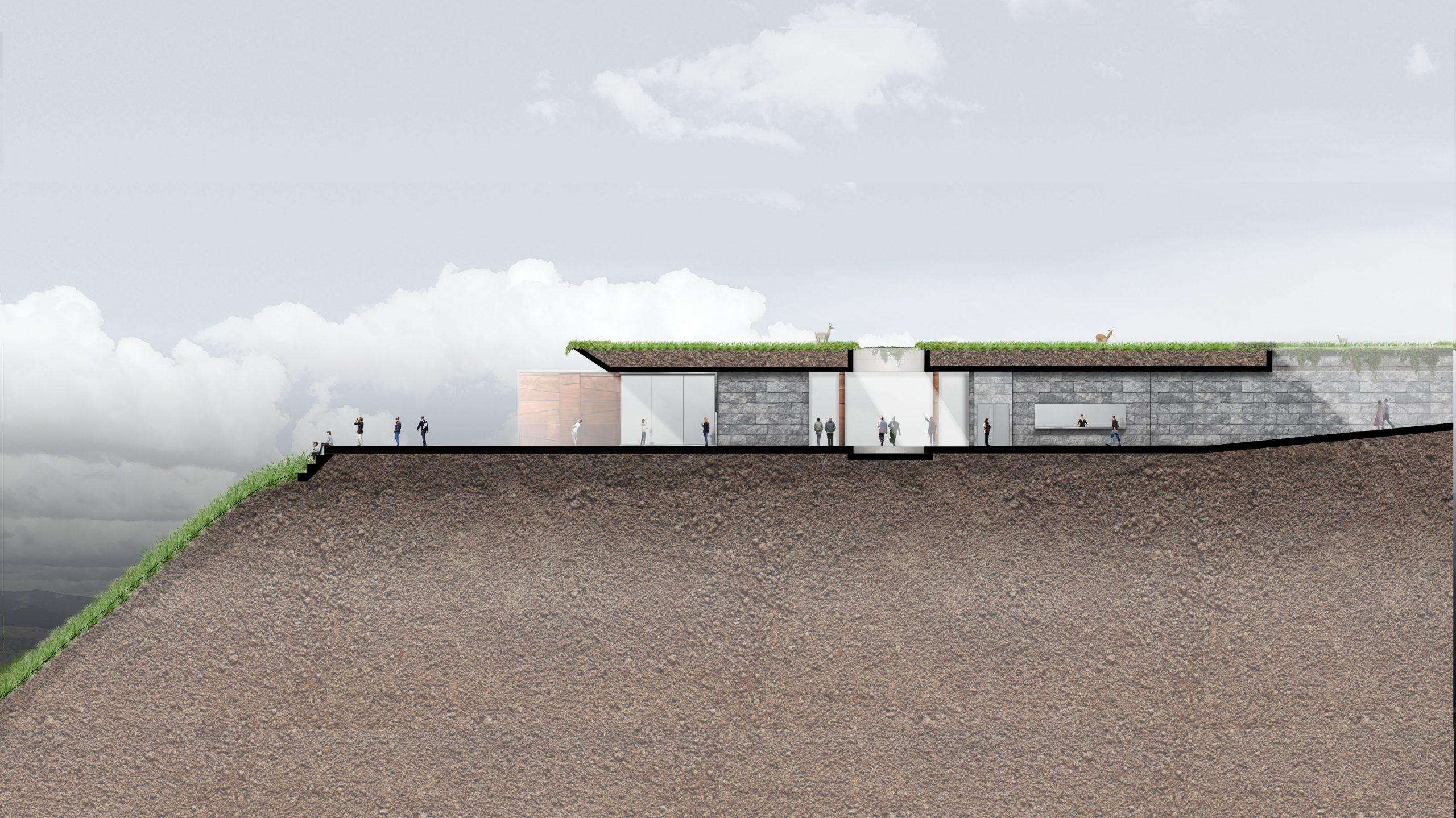 Corte 01_Moray_Artadi Arquitectos